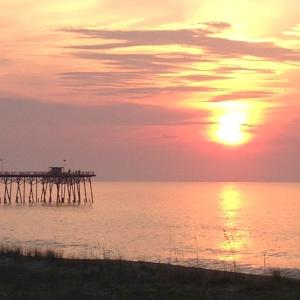 Morning at Kure Beach. Photo by Kevin Carter.