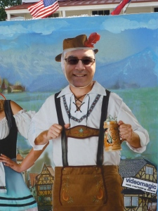 Getting my Oompah on at Oktoberfest in Vienna, Va. Photo by Marcia Carter